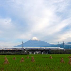 富士山がまた雪化粧