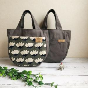 お花柄のおさんぽバッグ