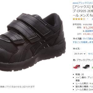 次はどんな安全靴でいこーかなー