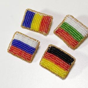 新作国旗シリーズ ロシア ブルガリア ドイツ ルーマニア