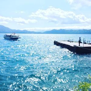 田沢湖でとぶ♪