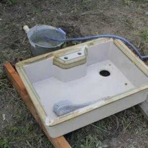 洗面所の作成 その3