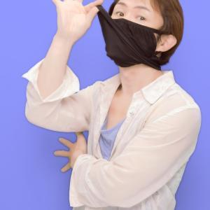マスクをしてるとイケメンっぷりが披露できない♪