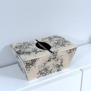 ジュイ柄の両開きの箱