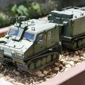 ☆ 作っちゃいました96・・・・・スペイン軍 関節連結型装甲兵員輸送車BV206