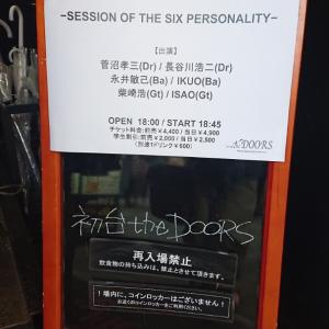 SESSION OF THE SIX PARSONALTY 初台DOORS '19.6.3