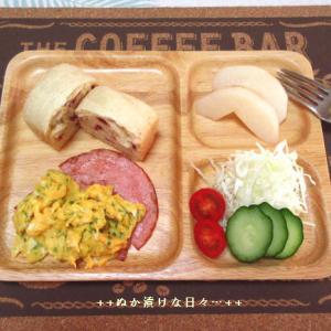 *メリ☆食* 「プレ葉deパンまつり」で購入したパンでワンプレートモーニング♪