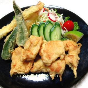 *メリ☆食* マイブームなつるむらさき&マコモダケで夕食♪