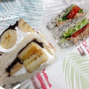 休日のお昼は「クックマートのサンドイッチ」