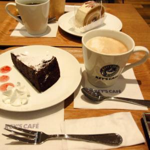 「KEY'S CAFE 」でスイーツたいむ♪