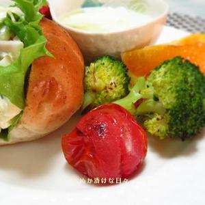 *メリ☆食* 本日のワンプレートモーニング♪&マスク