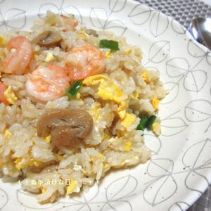 *メリ☆食* 海老ピラフ(風)で夕食♪