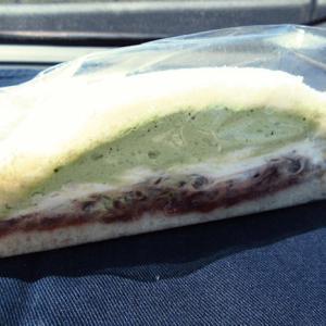 「ハッピーサンドイッチ あしながおじさん」のサンドイッチ