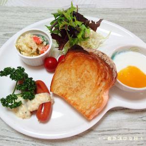 *メリ☆食* 「浜松ハム」さんのウインナーでワンプレートモーニング♪