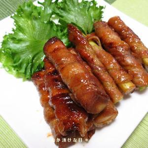 *メリ☆食* 高野豆腐とアスパラのくるくる巻きで夕食♪
