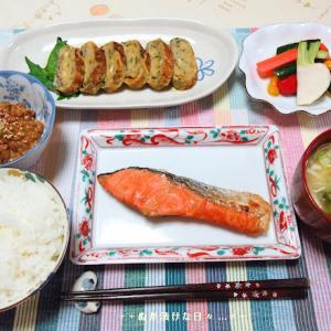 *メリ☆食* そして我家では地味な食卓な夕食♪