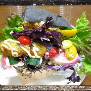まるで野菜畑の様なサンドイッチ♪「ラビットカフェ」