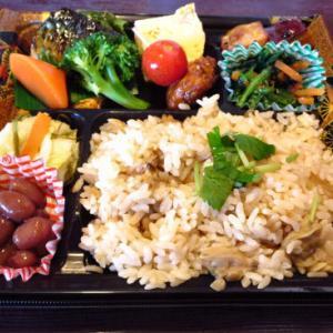 知久屋の「あさりご飯弁当」