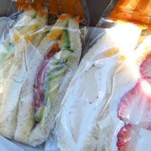 「Haraペコ・サンド」のサンドイッチ