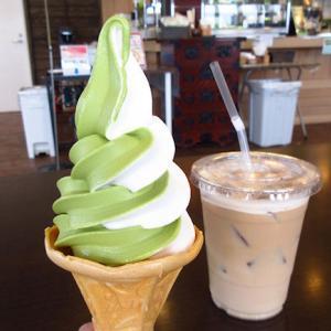 やっぱ美味しいよ!森町茶屋のソフトクリーム
