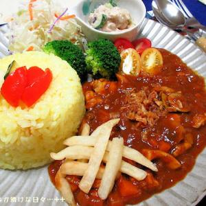 *メリ☆食* 久々にじっくり作った薬膳カレーで夕食♪