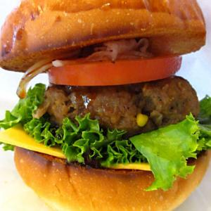 「シェリーズキッチン」でハンバーガー♪