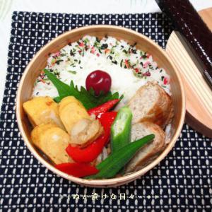 *メリ☆食* 自家製豆腐ハンバーグで曲げわっぱ弁当♪