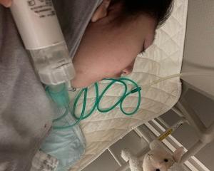 呼吸器装着前のひと仕事