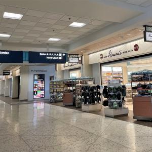 出発の日 ダニエル・K・イノウエ国際空港の様子