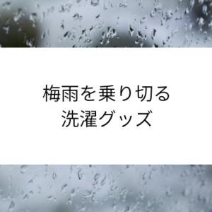 【洗濯】を快適に!梅雨対策で買った部屋干しアイテム