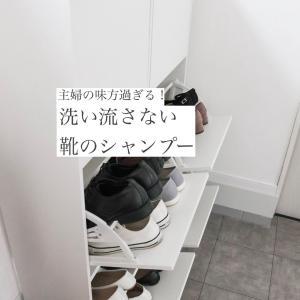 【超ラク家事!】洗い流さないシューズシャンプー