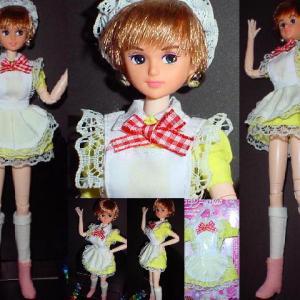 キサラにダイソーのドレス