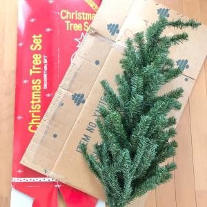 なんで今?クリスマスツリーを処分しました
