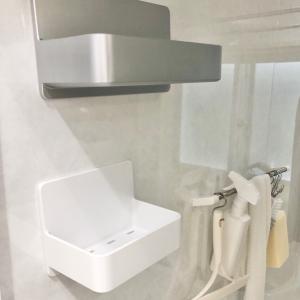 【お風呂のリフォーム】全撤去!収納棚&タオルバー