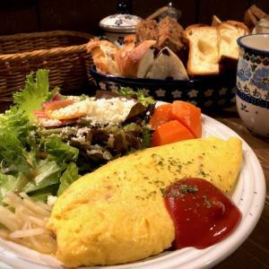ゆっくりと朝食