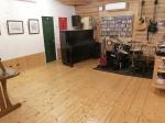 床の再塗装