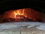 ピザ窯火床