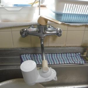 小工事 ~ キッチンと洗面台水栓取替え。
