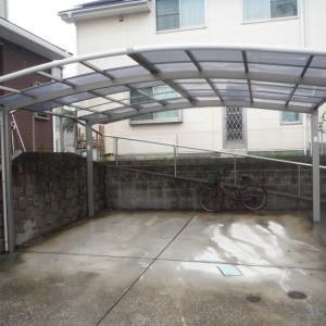 小工事 ~ カーポート屋根材取替え。