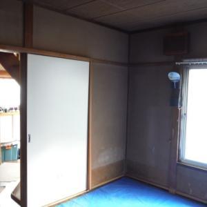 床上浸水 ~ 和室6畳間から開始です。