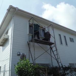 窓の防災対策 ~  北側の2階窓と防犯ガラス