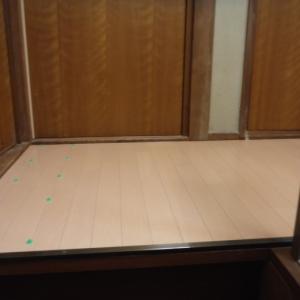 2階廊下 ~ 工事終了です。