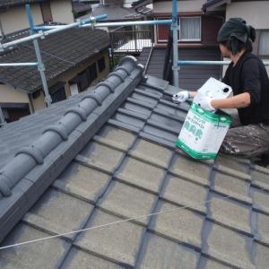 屋根、外壁塗り替えとメンテナンス ~  屋根、外壁他塗り替え。