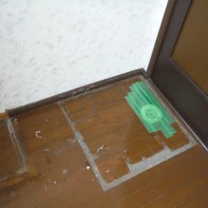 室内リフォーム ~ 洗面所内装工事。