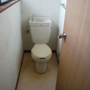 植木、ポスト、トイレ、テラス屋根まとめて工事 ~ トイレリフォーム。