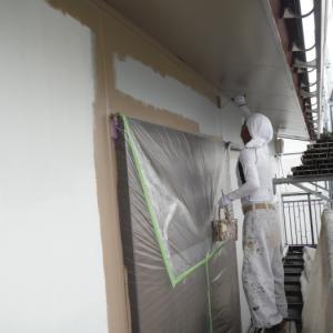 屋根・外壁 ~ 塗り替え終了