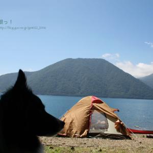 本栖湖 de キャンプ♪