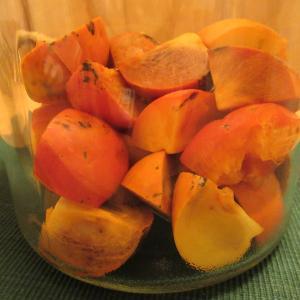 柿酢と六甲山