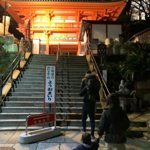 夜桜IN紀三井寺