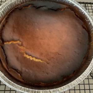 バスクチーズケーキを焼いてみた♪
